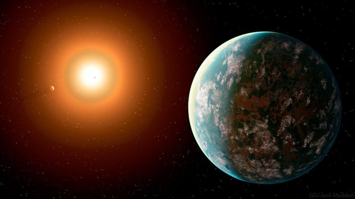 Спутник TESS раскрыл первую потенциально обитаемую планету