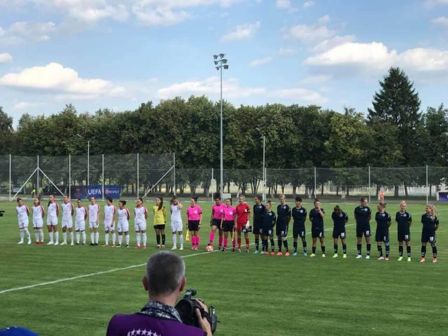 В Харькове стартовали международные соревнования по женскому футболу