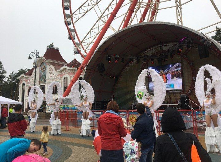 В Харькове прошел Бразильский карнавал (фото)