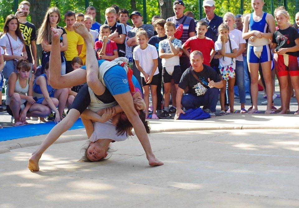 В Харькове прошел чемпионат Украины по сумо