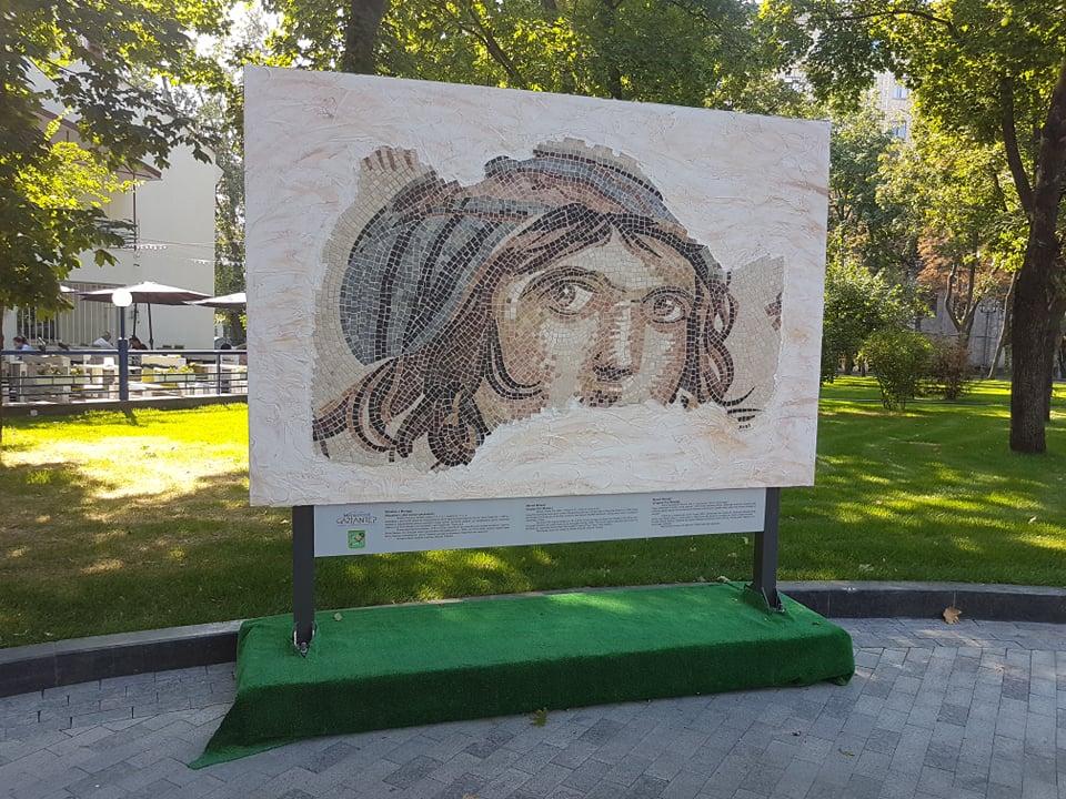 В центрі Харкова з'явилася старовинна мозаїка (фото)