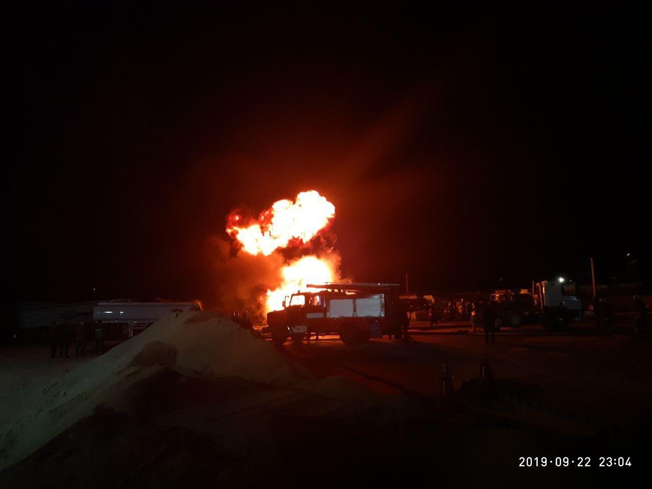 В Киеве ликвидирован масштабный пожар (фото)
