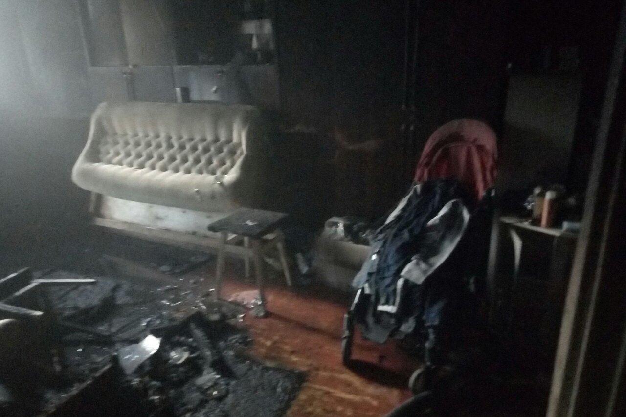 В Харькове после пожара обнаружили тело женщины (фото)