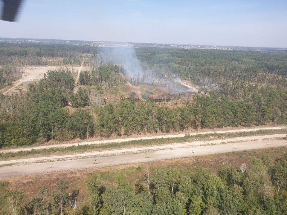 Взрывы на арсенале в Калиновке. Огонь не успел дойти до артскладов (видео, фото)