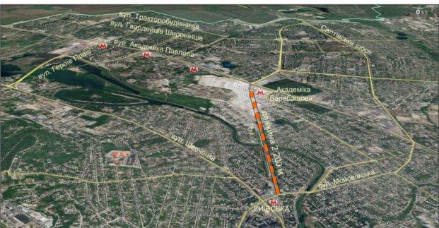 В Харькове построят дорогу, которая соединит Салтовку с центром