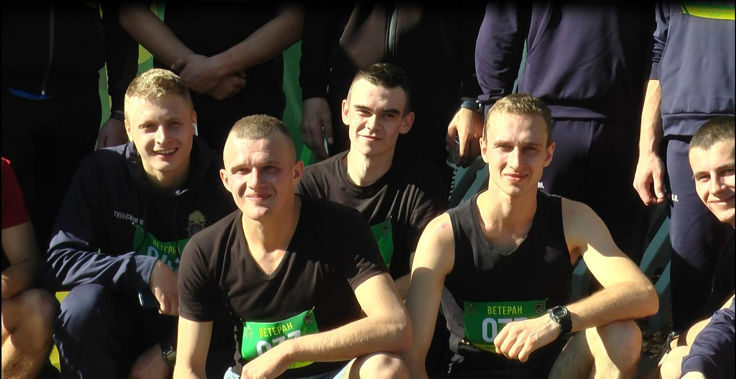 В Харькове участники боевых действий устроили забег (фоторепортаж)