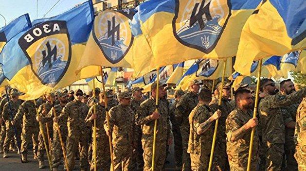 """Американские конгрессмены требуют внести батальон """"Азов"""" в список террористических организаций"""