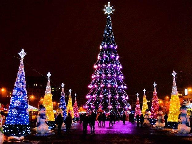 Кернес выделил 4 миллиона гривен на новогоднюю елку