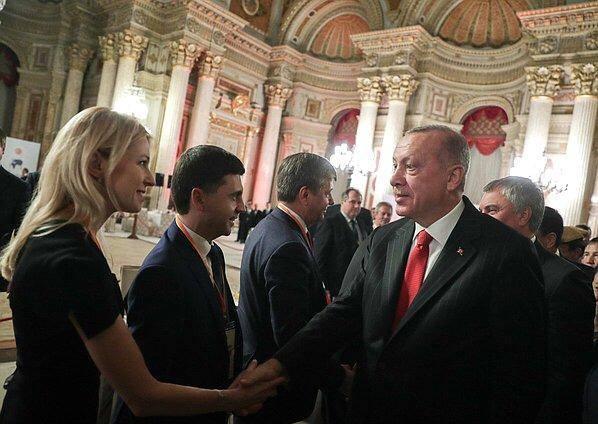 Эрдоган принял российских депутатов из Крыма. МИД Украины выразил протест