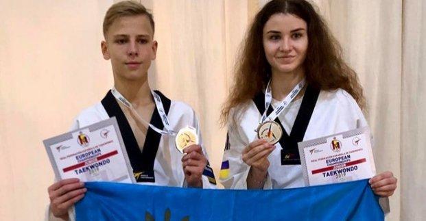 Харьковчанин стал призером чемпионата Европы по тхэквондо
