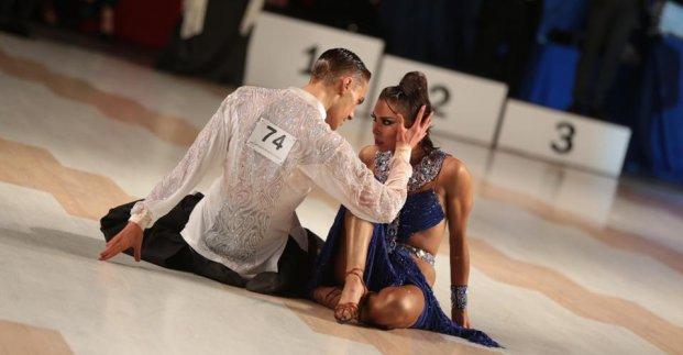В Харькове прошел фестиваль-конкурс бального танца