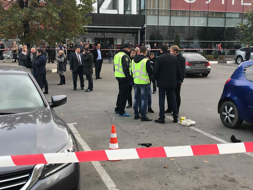В Харькове стреляли в заместителя Жилина (фоторепортаж)