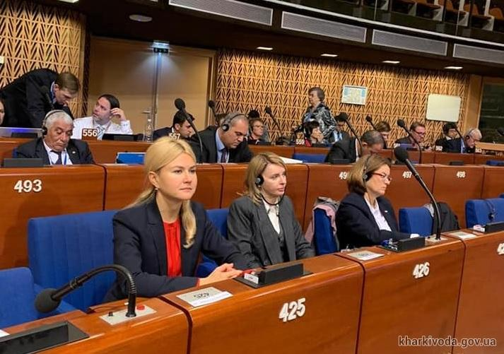 Глава ХОГА принимает участие в сессии Конгресса региональных властей Совета Европы