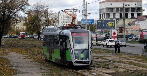 Трамваи в Харькове временно изменят маршрут (объезд)