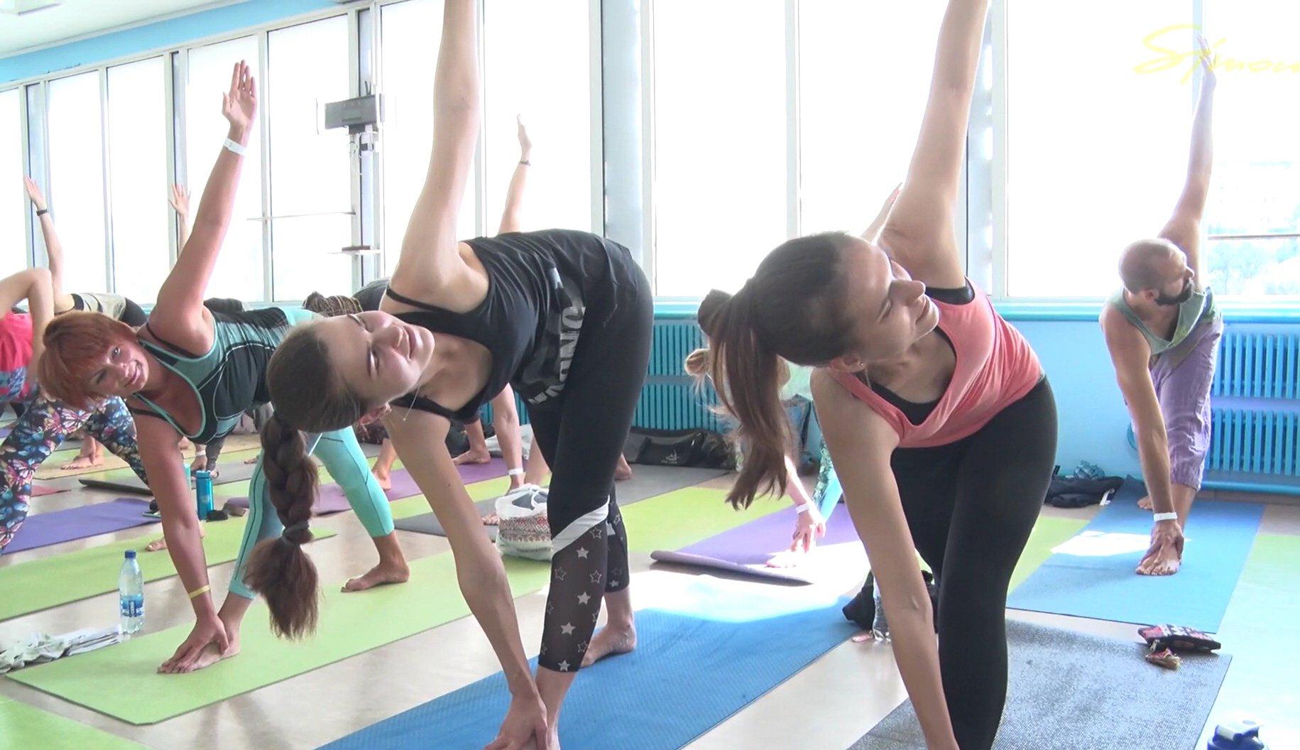 На Йога-конвеции в Харькове Oldschool yoga Convention