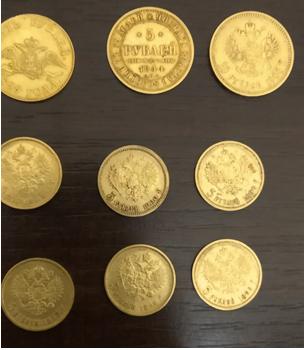 Пограничники предотвратили контрабанду золотых монет (фото)