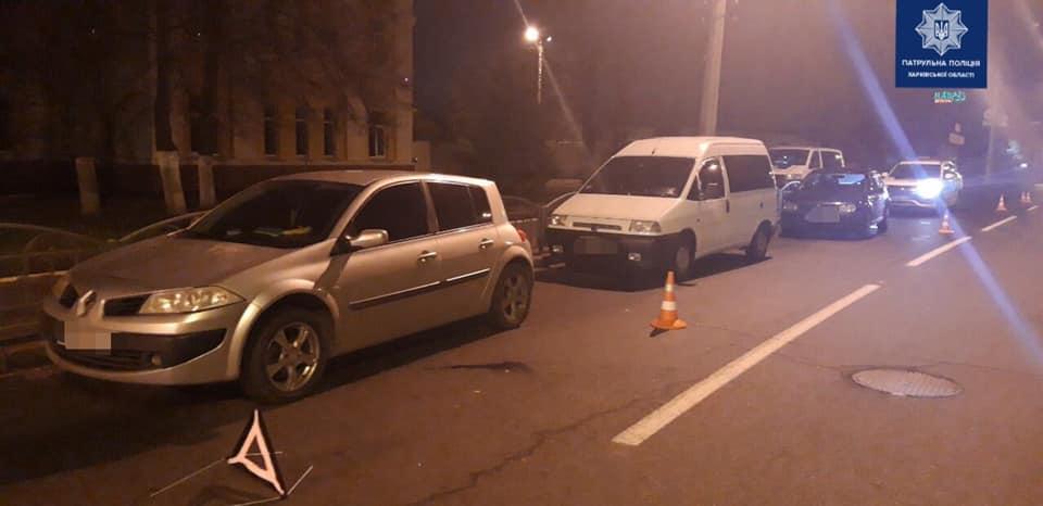 На ул. Шевченко произошло ДТП с пострадавшим (фото)