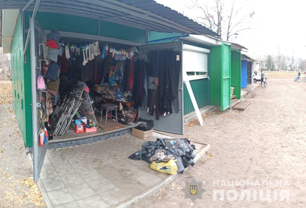 Житель Славянска за ночь ограбил три магазина на Харьковщине