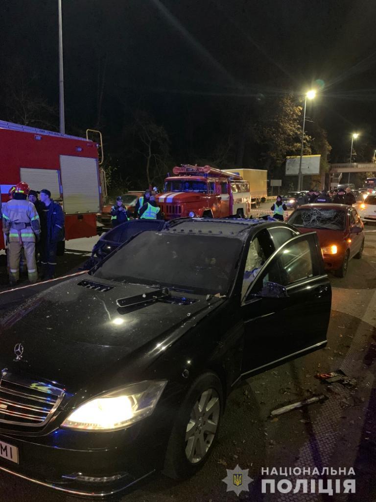 Появилось видео момента взрыва автомобиля бизнесмена в Киеве