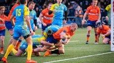 Сборная Украины по регби проиграла Нидерландам (фото)