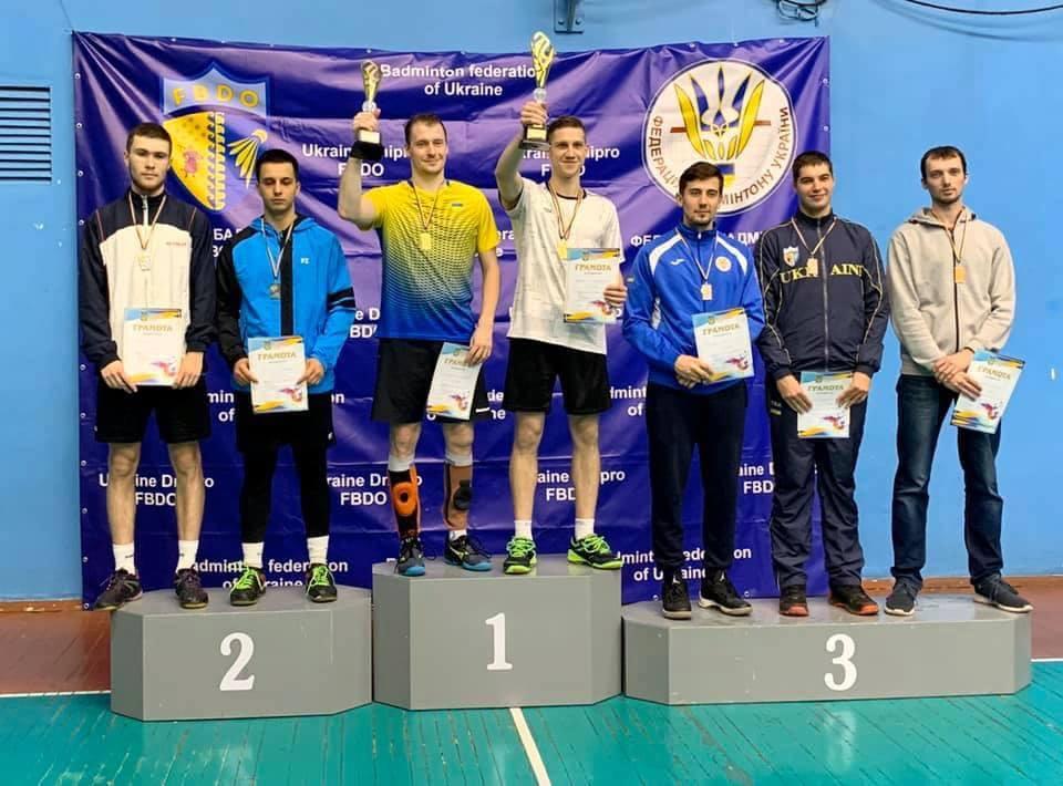 Харьковские бадминтонисты выиграли чемпионат Украины (фото)