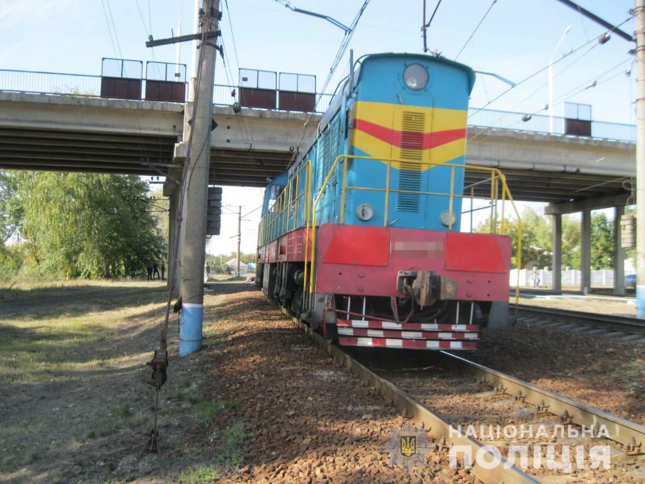 На Харьковщине поезд сбил неизвестного мужчину