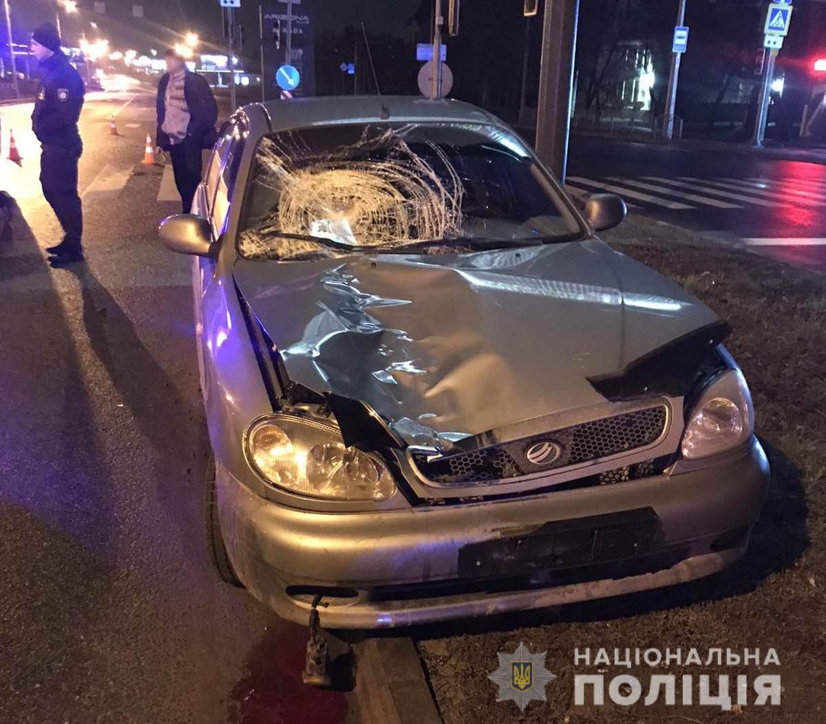 В Харькове на пешеходном переходе насмерть сбиты двое мужчин (фото)