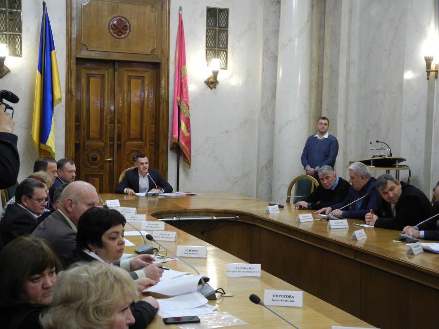 Председатель ХОГА обсудил с чернобыльцами проблемные вопросы