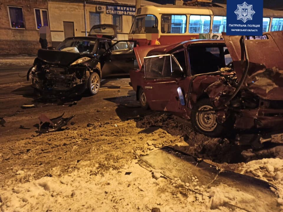 На ул. Гольдберговской в ДТП пострадали три человека (фото)