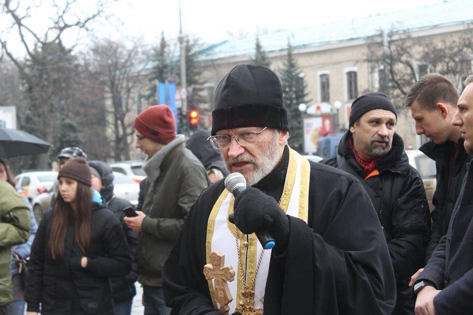 В Харькове протестуют против обмена с Россией обвиняемых в теракте возле Дворца спорта (фоторепортаж)