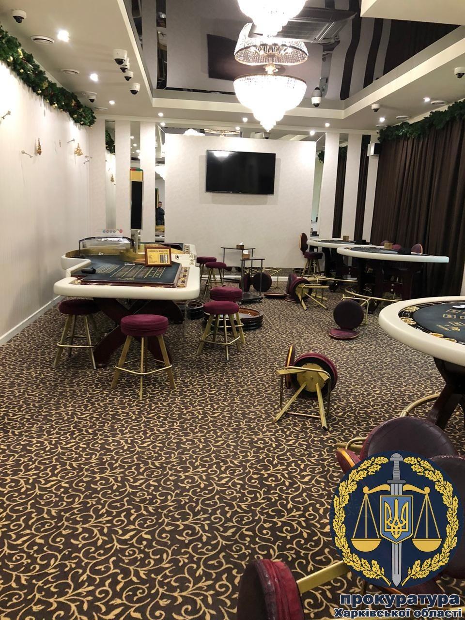 В Харькове закрыты два нелегальных казино (фото)