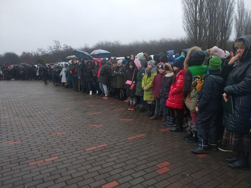 В Дробицком Яру состоялась Церемония памяти жертв Холокоста (фоторепортаж)