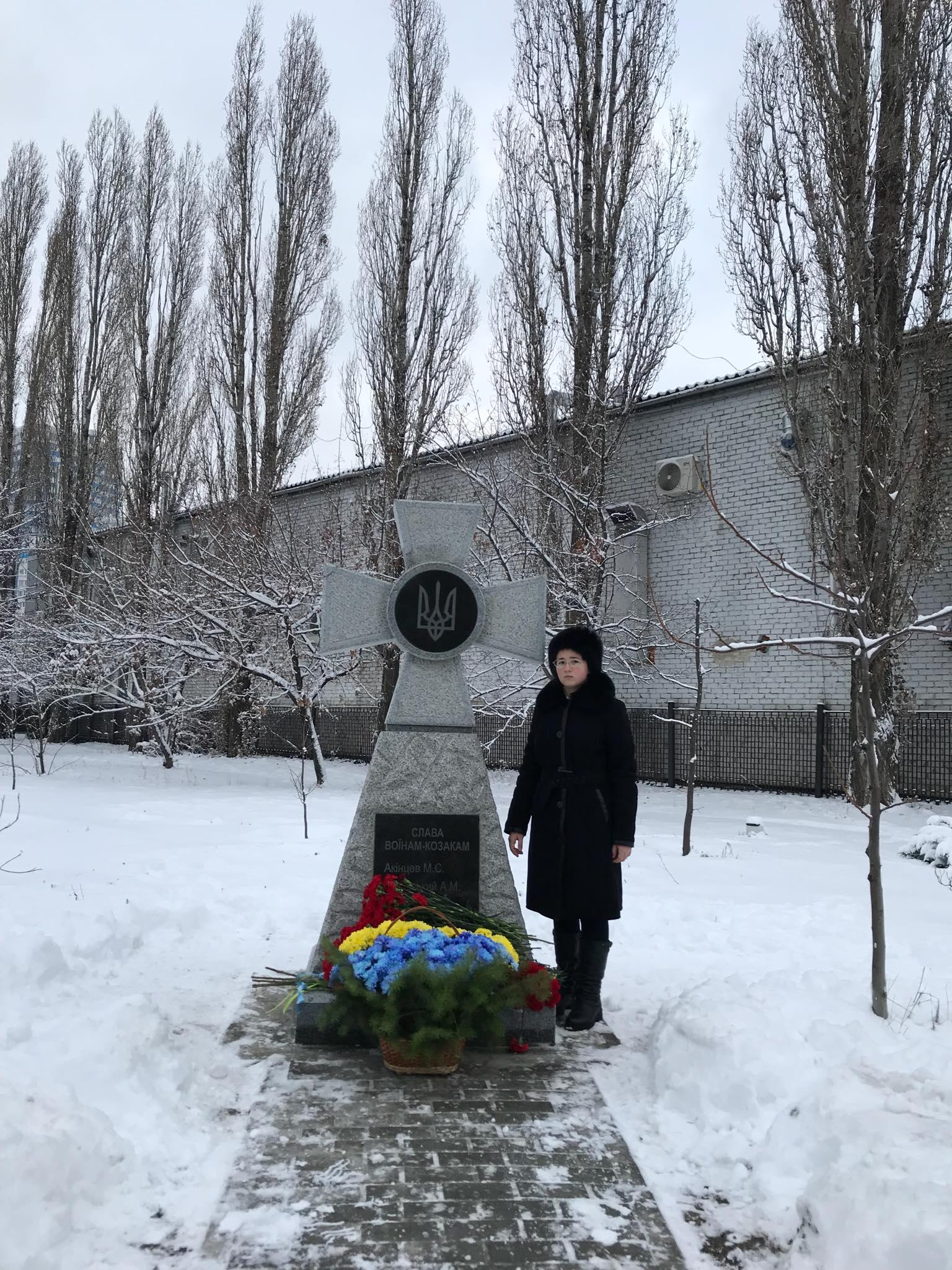 В Харькове открыли монумент Казацкий крест в честь погибших воинов (видео, фото)