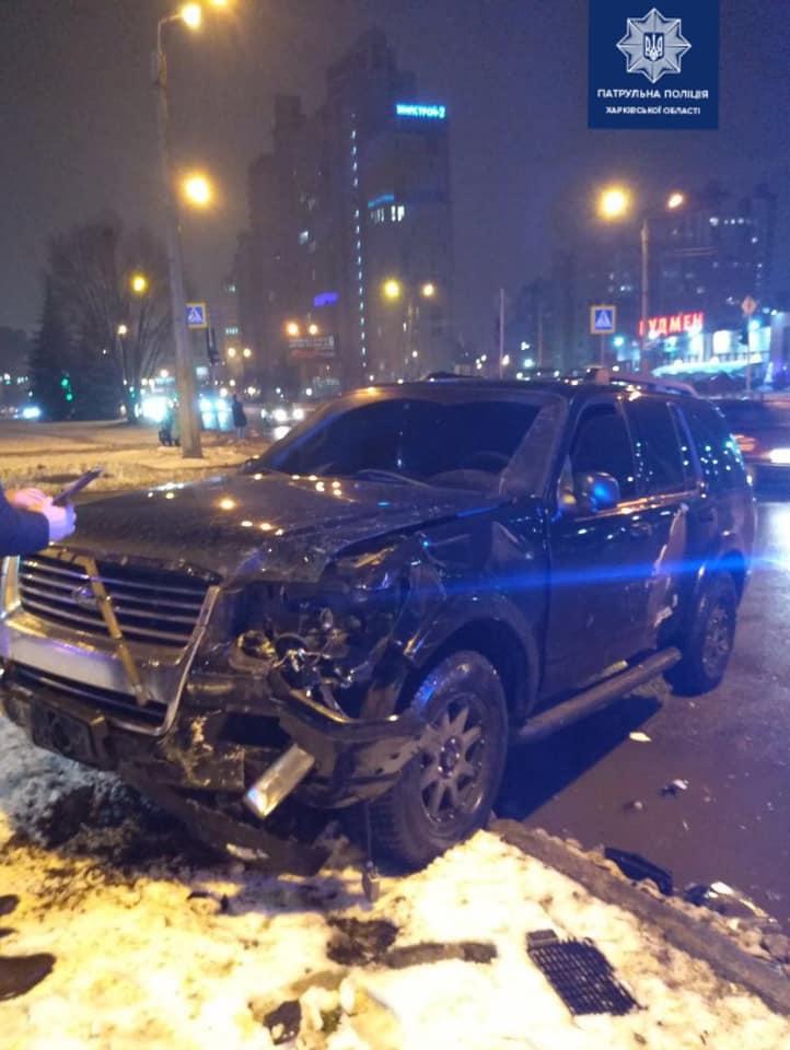 В ДТП на Клочковской пострадали люди (фото)