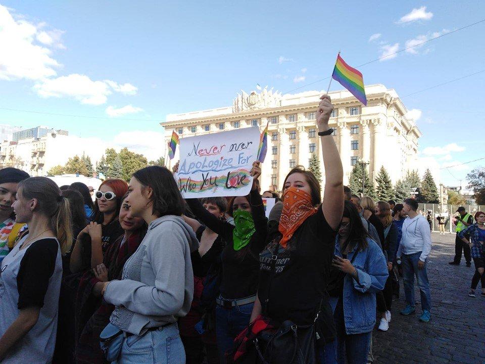 ЛГБТ-активисты Харькова просят Авакова заняться расследованием нападений на их офис
