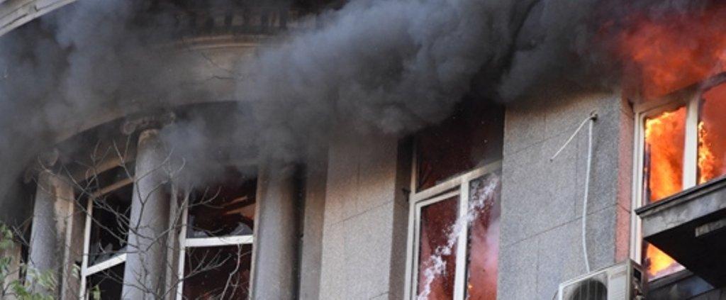 Пожар в Одесском колледже: число пострадавших увеличилось