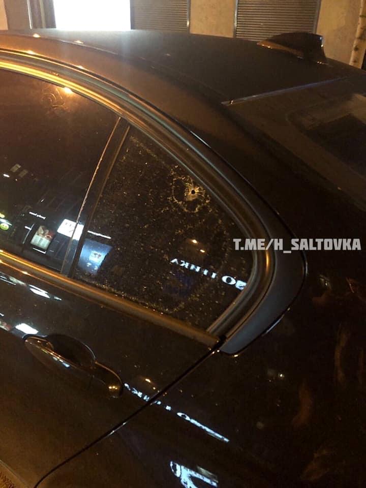 В центре Харькова обстреляли магазин и автомобиль (фото)