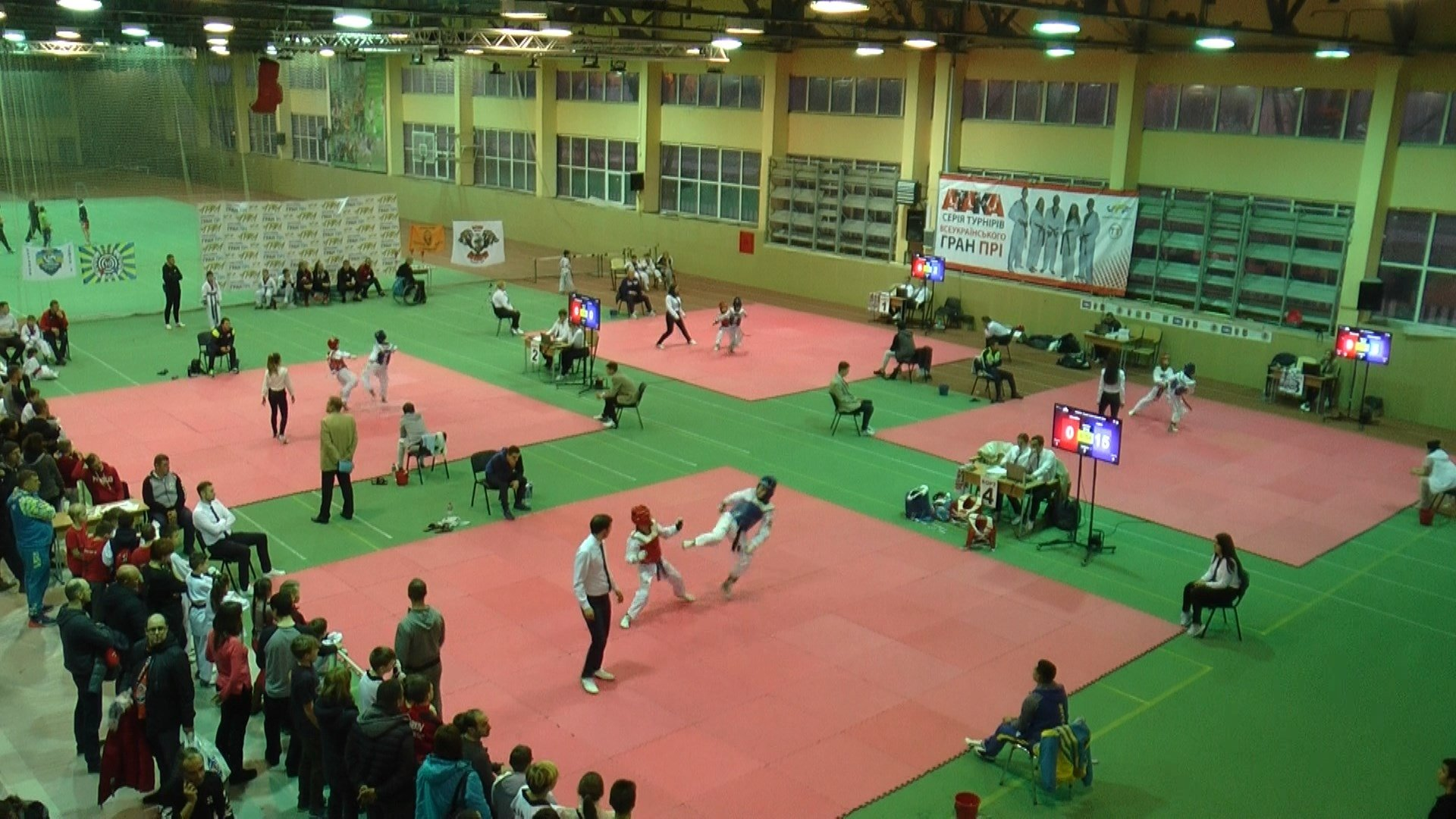 В Харькове завершился уникальный турнир по тхэквондо (фото)