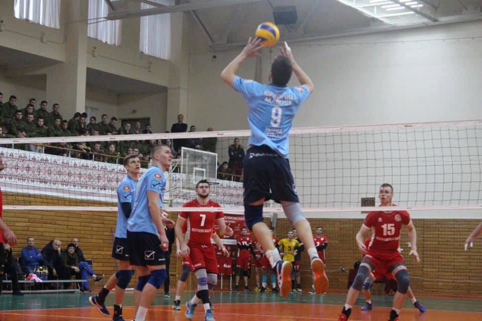 Харьковское волейбольное дерби выиграли «юристы» (фото)