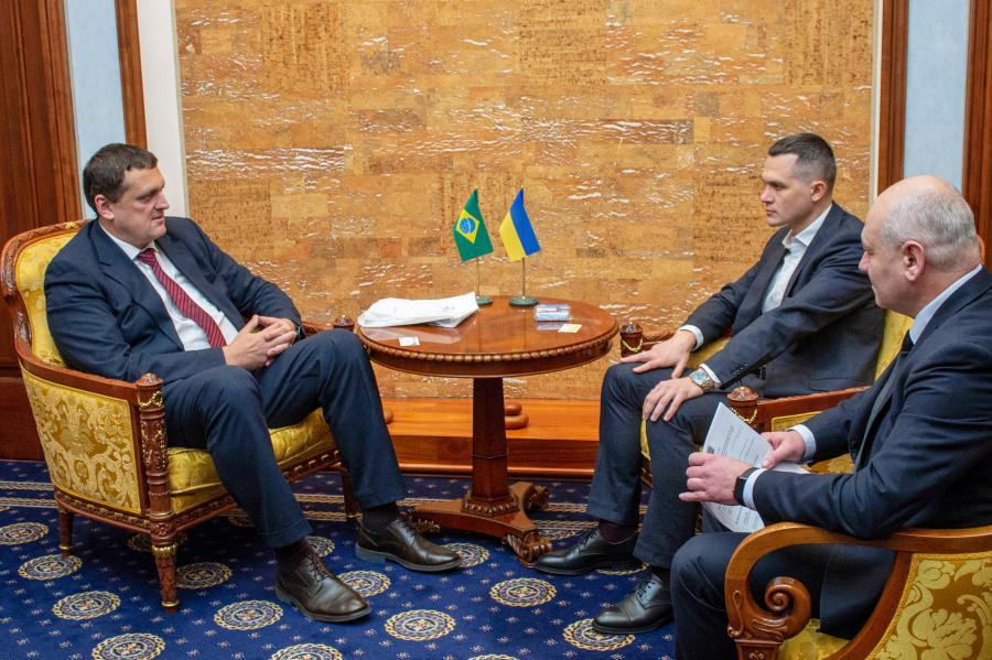 Харьковщина может укрепить экономическое сотрудничество с Бразилией