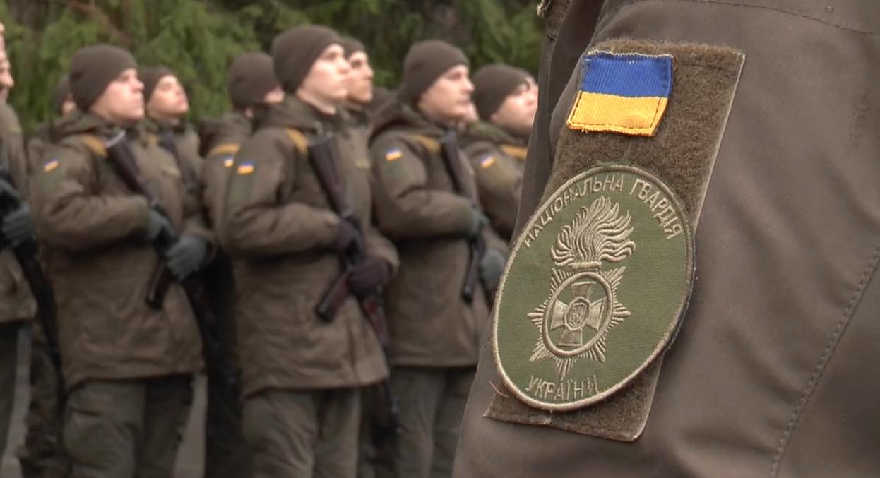 До Харкова прибули нацгвардійці зі всієї України, аби скласти військову присягу (відео)