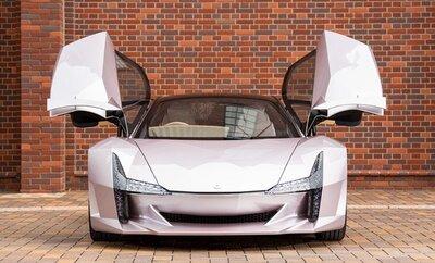Автомобіль з целюлози