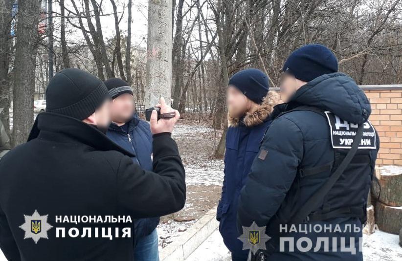 В Харькове арестовали мужчину, который избил и ограбил полицейского (фото)