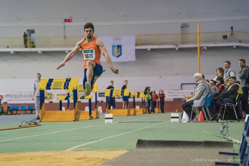 Харьковский легкоатлет — призер «Рождественских Стартов»