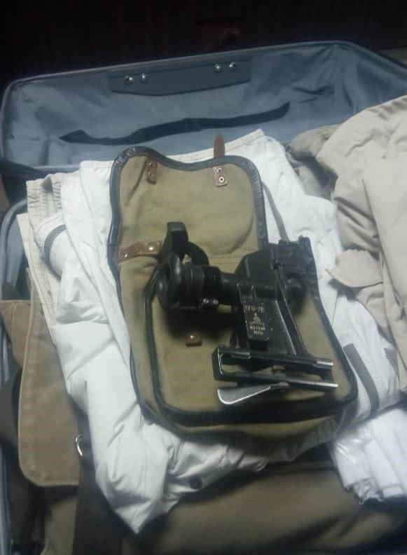 Россиянин попытался вывезти из Украины прицел к гранатомету (фото)
