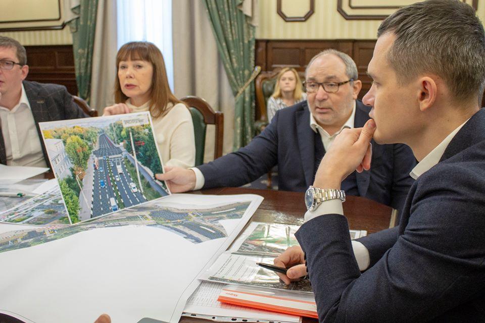 Алексей Кучер обсудил проблемные вопросы с Геннадием Кернесом (фото)