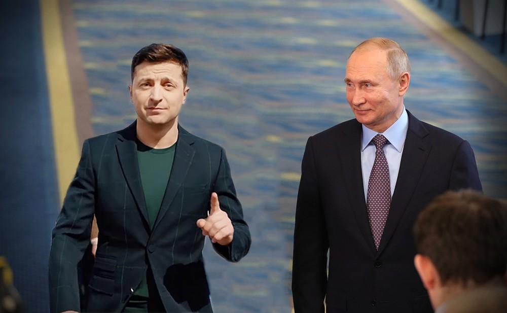 Зеленский поздравил Путина с Новым годом