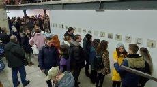 Видатний харківський художник Гамлет Зіньківський зобразив рік свого життя на папері (відео)