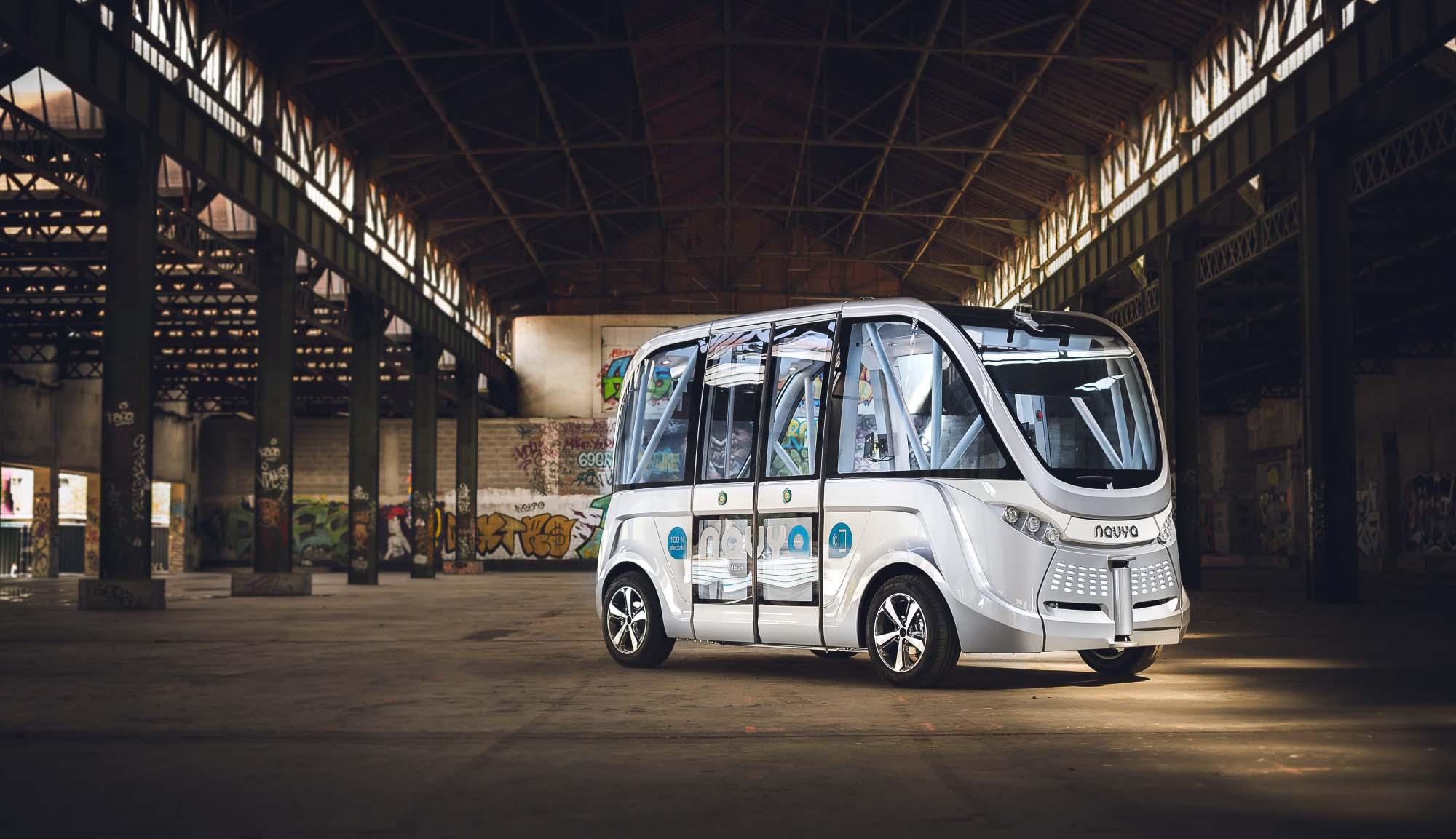 Самокеровані автобуси Volvo