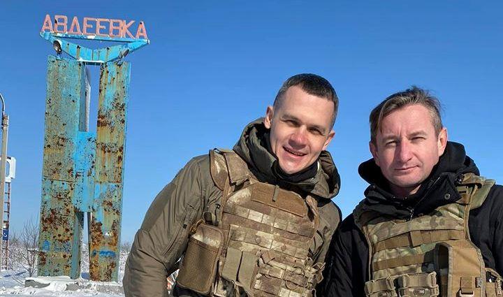 Харьковский губернатор посетил зону АТО (фото)